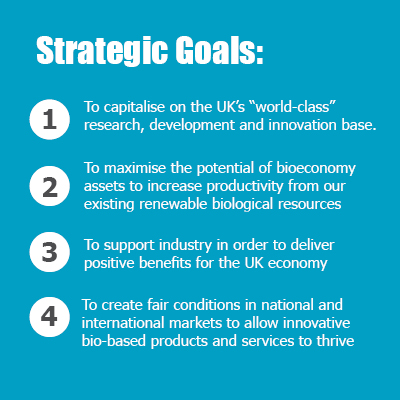 The Bioeconomy Strategy's strategic goals