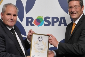 Bouygues E&S Contracting UK Ltd win RoSPA Gold Award