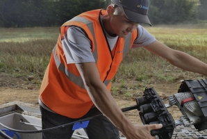 optical fiber axione