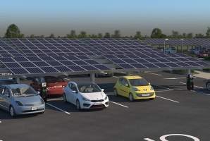 st ives park and ride solar energy