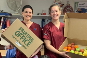 Hospital Fruit Donation BYES