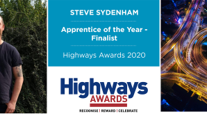 Steve Sydenham nominated for Apprentice of the Year Award