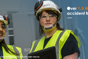 Over 1.5 Million hours accident free